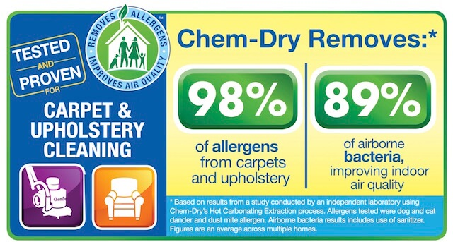 upholstery cleaning health study